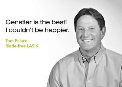 Tom Palace Patient Testimonial - Genstler is the best! I couldn't be happier.