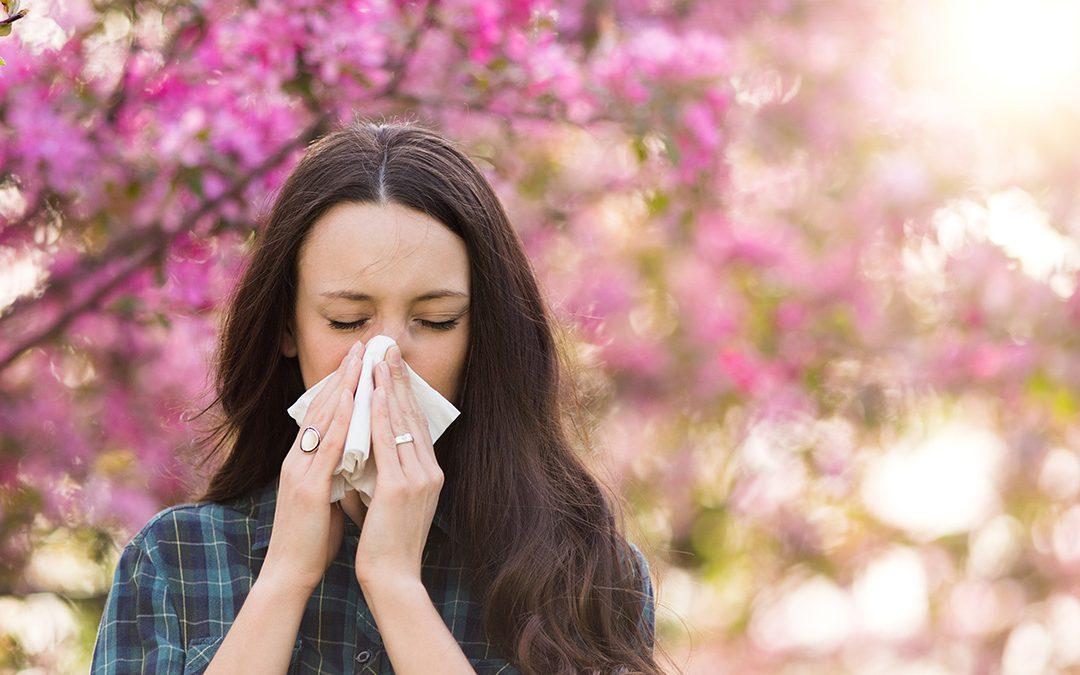 Allergy Season is in Full Bloom